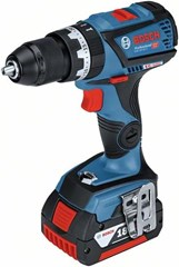Bosch Impact Wrench + Combi Drill Kit